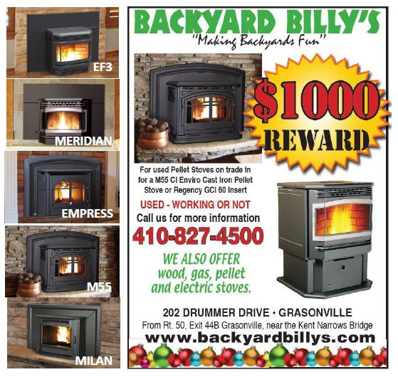 Looking to upgrade your pellet stove, Get a $1000 trade in for your old pellet stove working or not