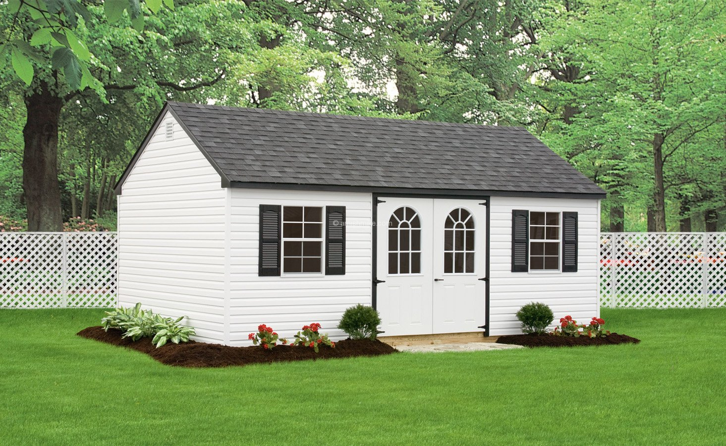 12x20 cape cottage storage shed