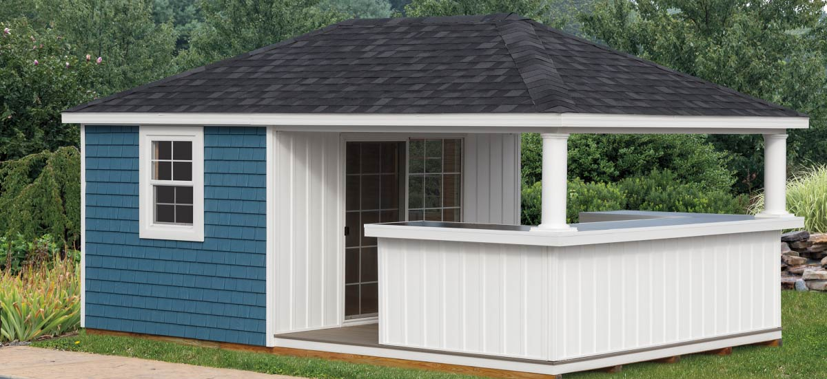 Storage Sheds near me - Build your shed into an Outdoor Living Space