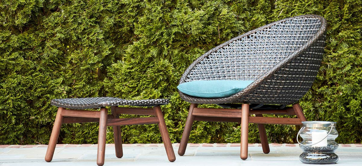 Ipe Lounge Patio Furniture Nest Collection by Jensen Leisure