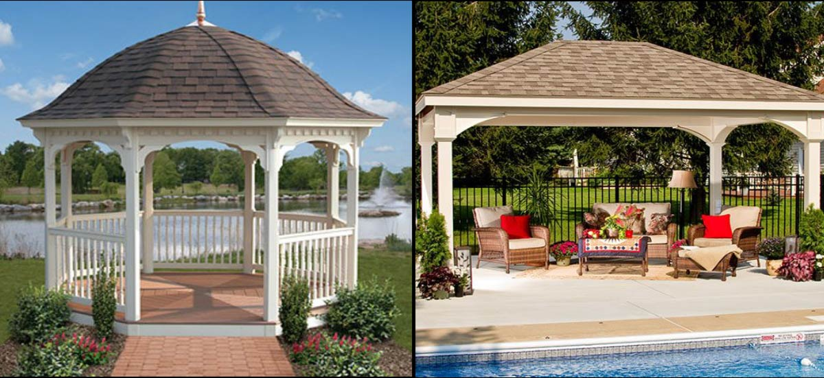 Gazebos - Pergolas - Pavillians Amish Outdoor Structures