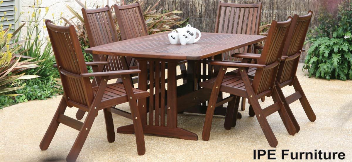 Ipe Dense Wood Patio Furniture