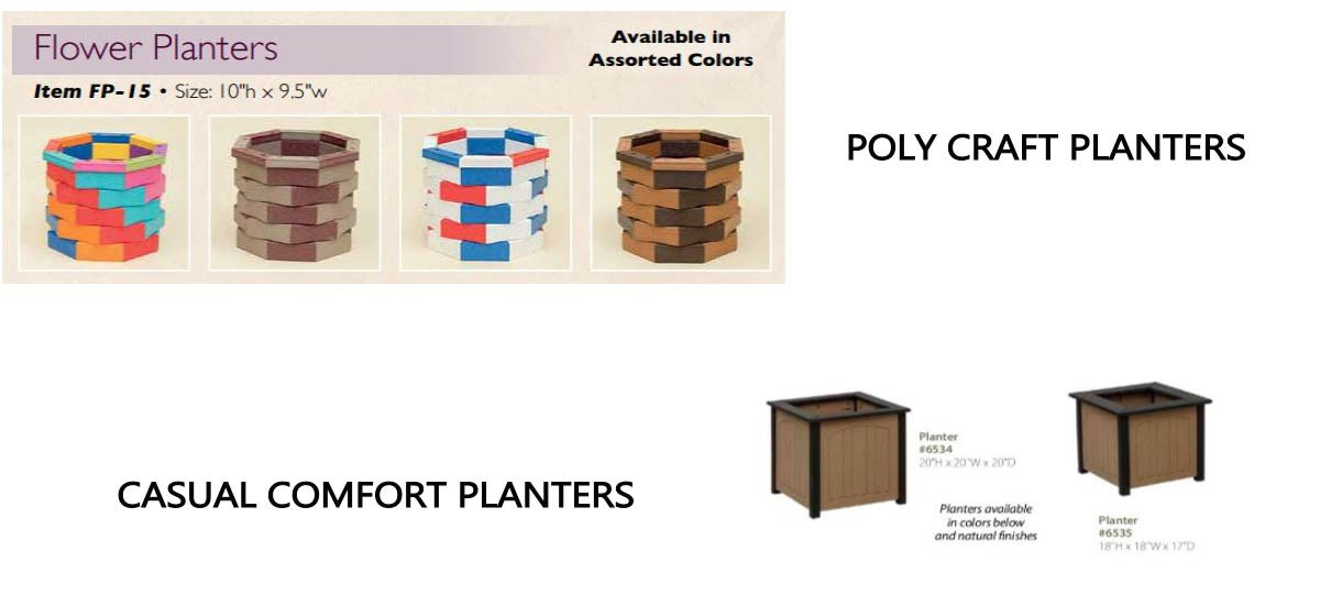 Poly Craft Planters