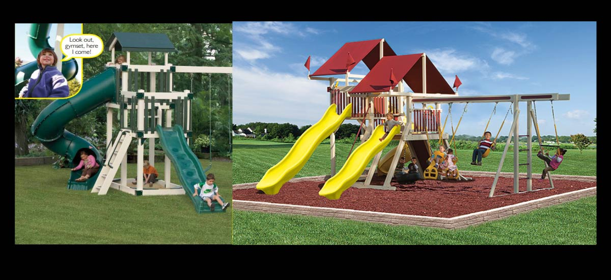 Amish Swingsets Kids Playhouses Playsets Children Furniture