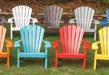 Dura Comfort Outdoor Poly Adirondack Chairs