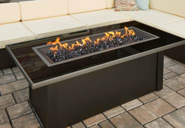 Outdoor Great Rooms Gas Firepit