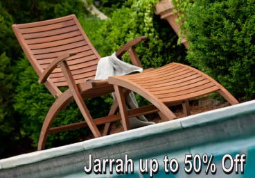 Jensen Jarrah Patio Furniture Up To 50% Off