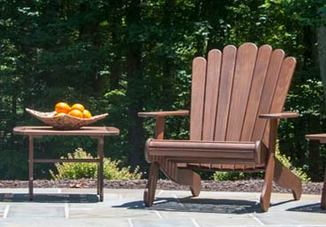 Jensen Leisure Hardwood Adirondack Chairs