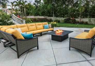 Outdoor Resin Wicker Furniture Sumbrella Cushions Annapolis Baltimore MD DC