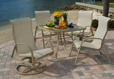 Aluminum Sling Pool And Patio Furniture Casual Furniture