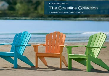 Seaside Casual Adirondack Chairs