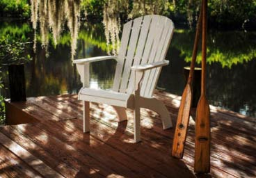 Windward Marine Poly Grade Adirondack Chairs
