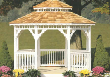Wood & Vinyl Gazebos