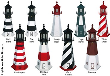 Light Houses Multiple Styles & Colors