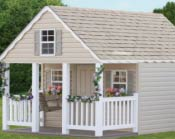 Elite Playhouse with Porch