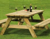 PT Wood Picnic Table