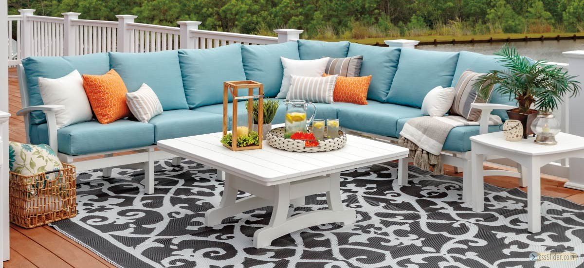 Casual-Comfort-Outdoor-Poly-Patio-Furniture-Deep-Seating-for-sale-Grasonville-Maryland